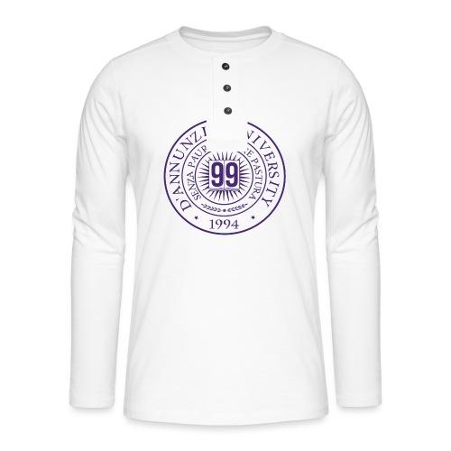 99 COSSE LOGO - Maglia a manica lunga Henley