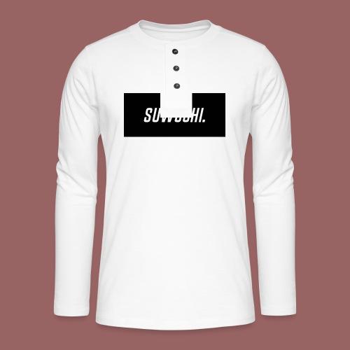 Suwoshi Sport - Henley shirt met lange mouwen