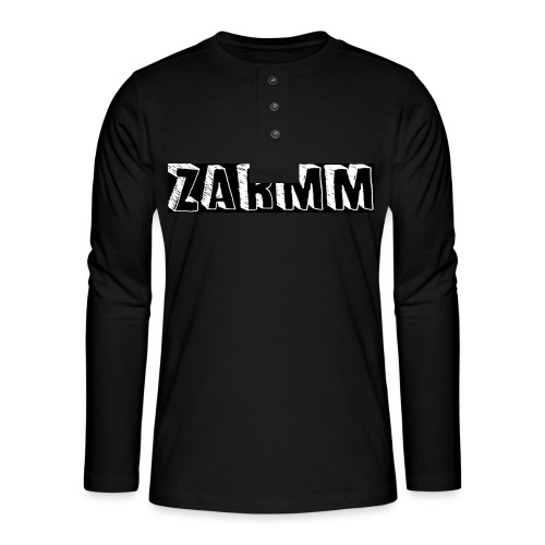 Zarmm collection - T-shirt manches longues Henley