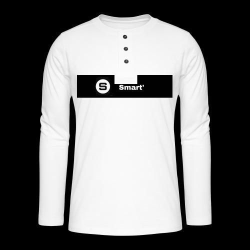 Smart' BOLD - Henley long-sleeved shirt