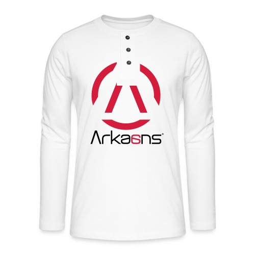 Arkaans Global - T-shirt manches longues Henley