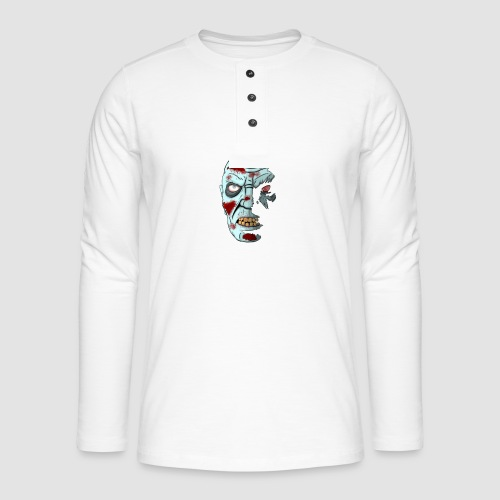 Shadow Zombie - Henley long-sleeved shirt
