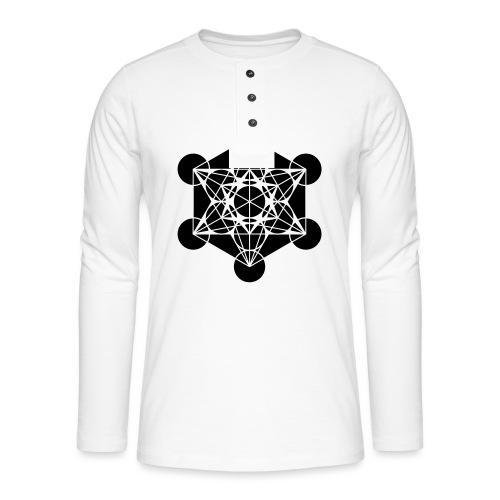 Metratron - T-shirt manches longues Henley