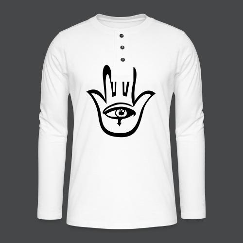 hamsa - Henley Langarmshirt