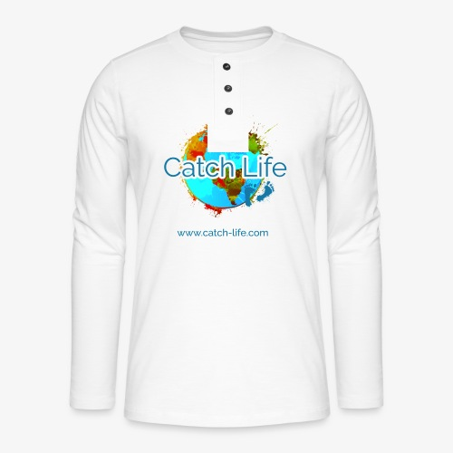 Catch Life Color - Henley long-sleeved shirt