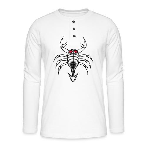 scorpio - Henley Langarmshirt