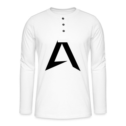 alpharock A logo - Henley long-sleeved shirt