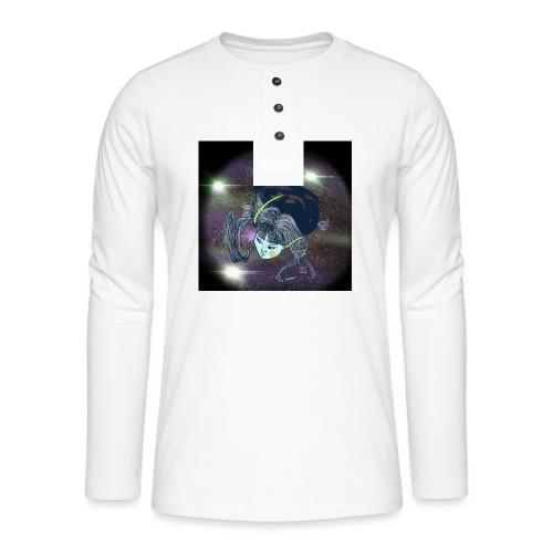 the Star Child - Henley long-sleeved shirt