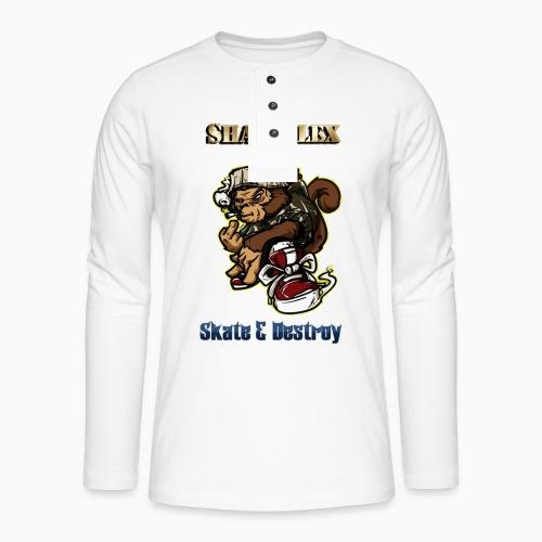 Skate - T-shirt manches longues Henley