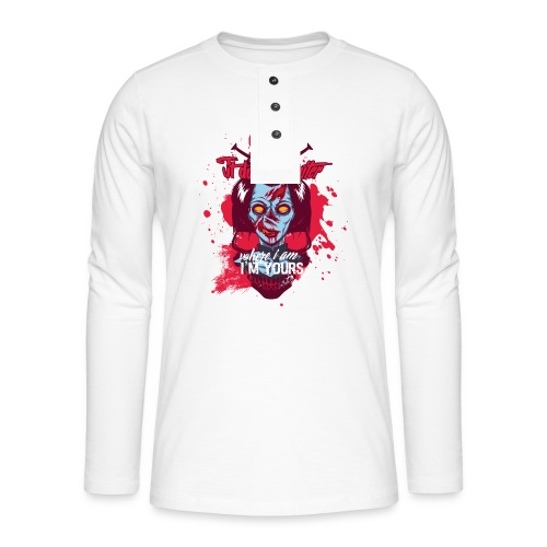 I m yours - Henley long-sleeved shirt
