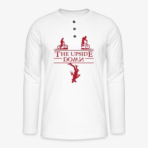 upside down - Koszulka henley z długim rękawem