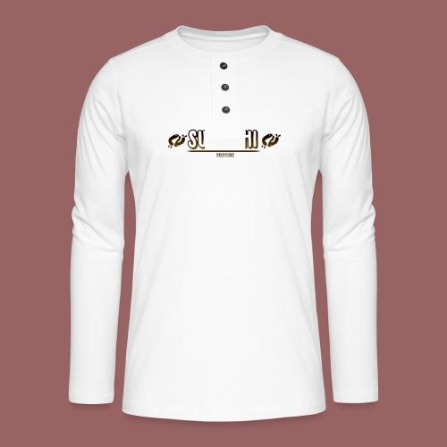 Suwoshi Streetwear - Henley shirt met lange mouwen