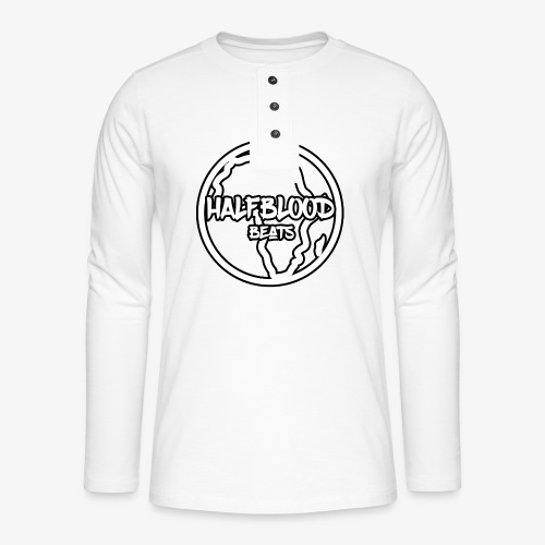 halfbloodAfrica - Henley shirt met lange mouwen