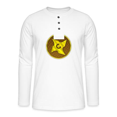 creative cap - Henley T-shirt med lange ærmer