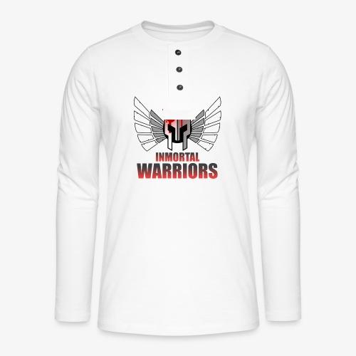 The Inmortal Warriors Team - Henley long-sleeved shirt