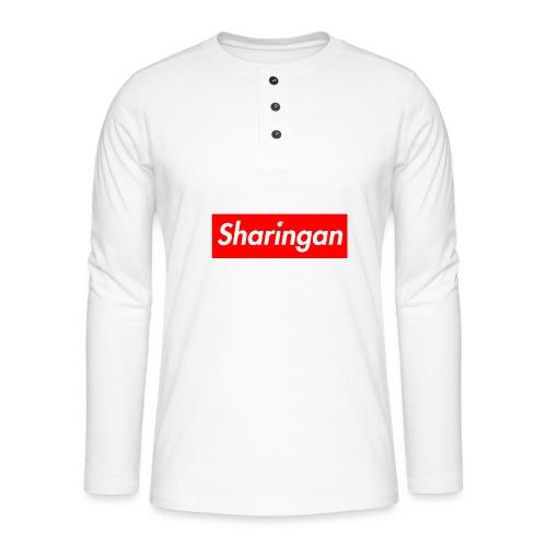 Sharingan tomoe - T-shirt manches longues Henley