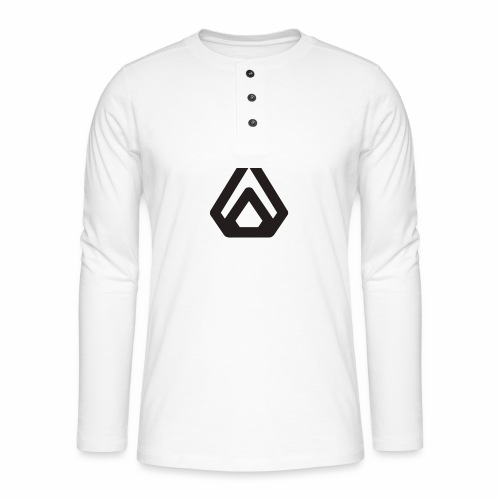 ASTACK - Henley long-sleeved shirt