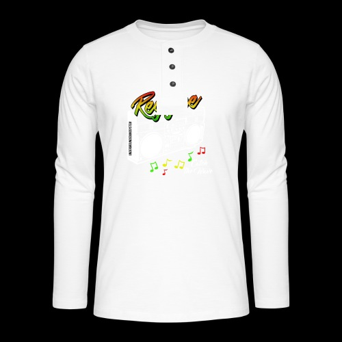 Reggae - Catch the Wave - Henley Langarmshirt