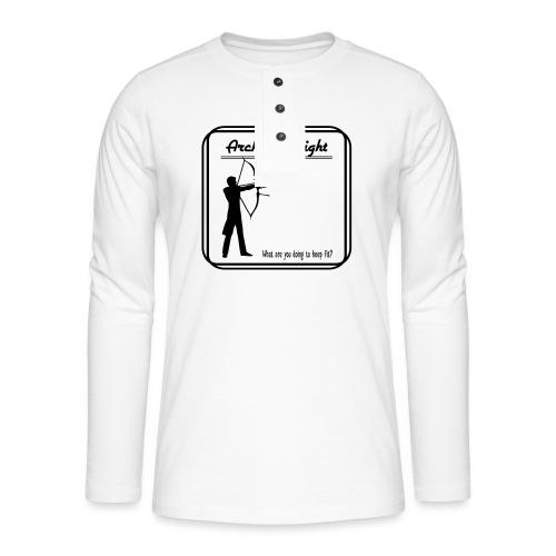 Archery tonight - Henley pitkähihainen paita
