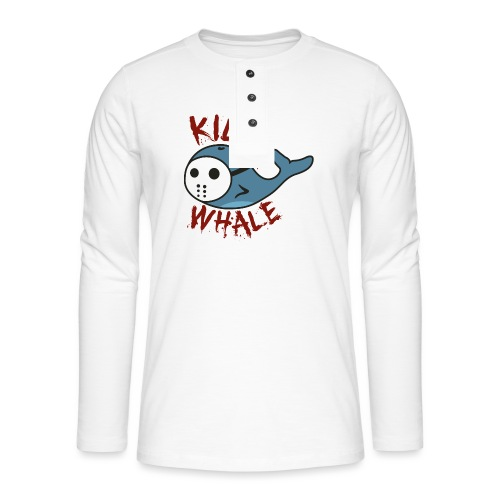 Killer Whale - Henley Langarmshirt