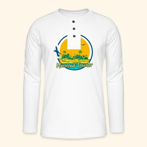 Moroccan Traveler - T-shirt manches longues Henley