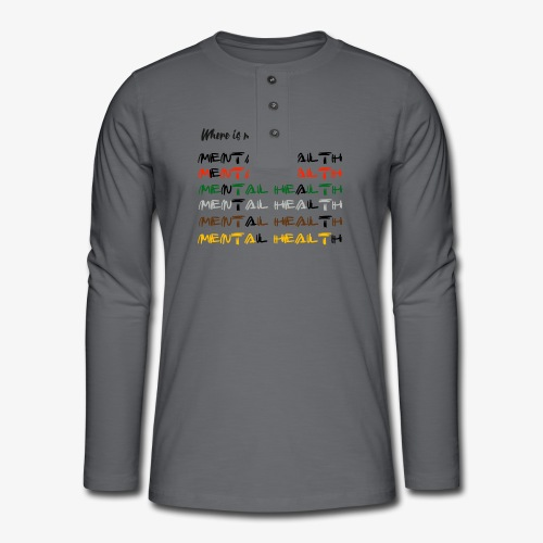 Where is my...? - Henley long-sleeved shirt