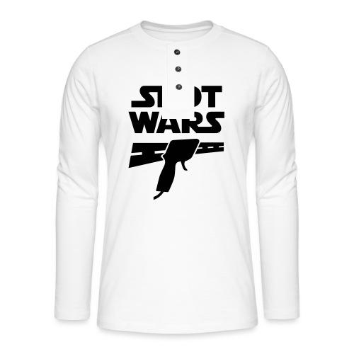 Slot Wars - Henley Langarmshirt