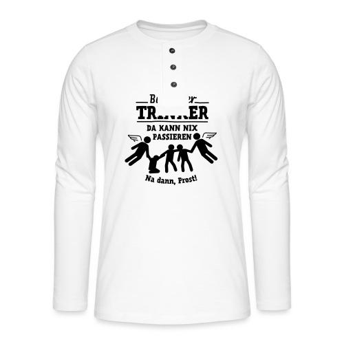 betreuter-trinker - Henley Langarmshirt
