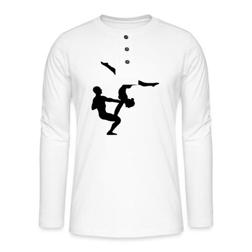 AcroYoga Counterbalance - Henley Langarmshirt