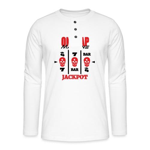 ONE TAP MACHINE CS:GO - Henley long-sleeved shirt