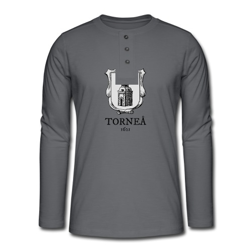 Tornea 1621 harmaa - Henley pitkähihainen paita