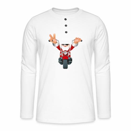 Father X-Mas - Henley long-sleeved shirt