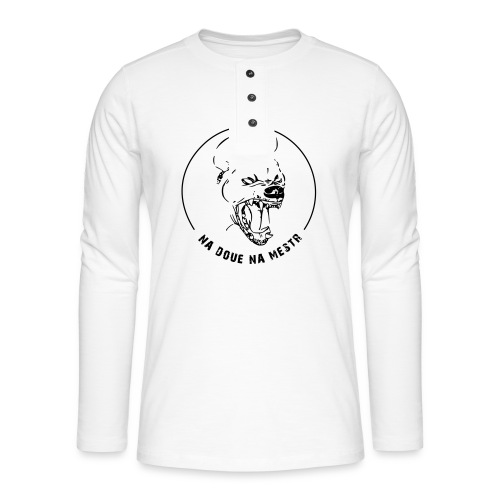 hyena - T-shirt manches longues Henley