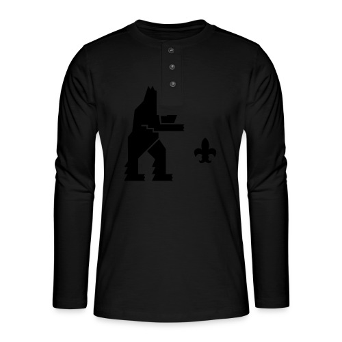 hemelogovektori - Henley pitkähihainen paita