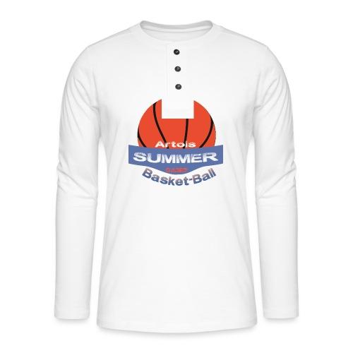 logo speadshirt - T-shirt manches longues Henley