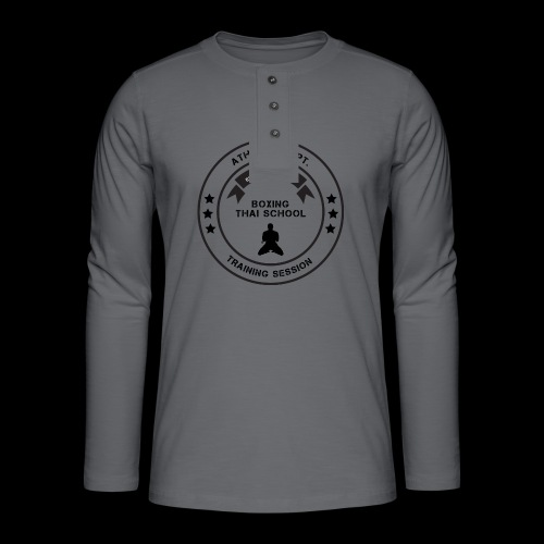 MTS92 BOXING THAI SCHOOL ROND - T-shirt manches longues Henley