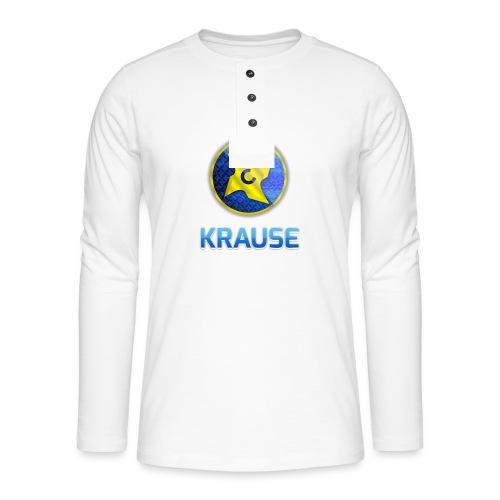 Krause shirt - Henley T-shirt med lange ærmer