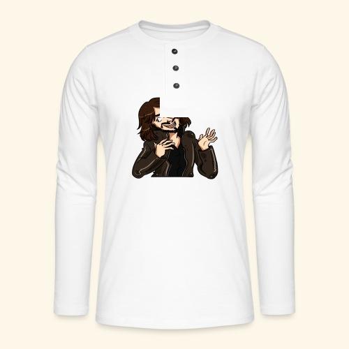 LEATHERJACKETGUY - Henley long-sleeved shirt