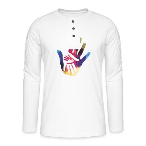 logo_storien - Henley langermet T-skjorte