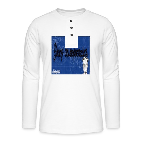 young_go_getter - Henley long-sleeved shirt