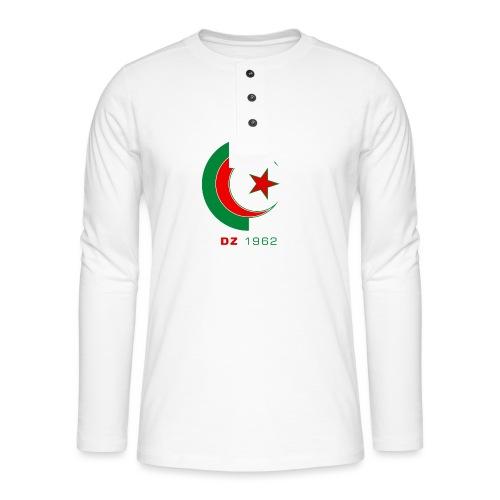 logo 3 sans fond dz1962 - T-shirt manches longues Henley