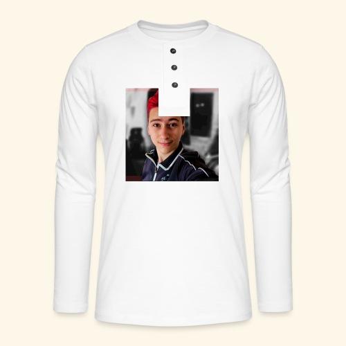 Lekker ding - Henley shirt met lange mouwen