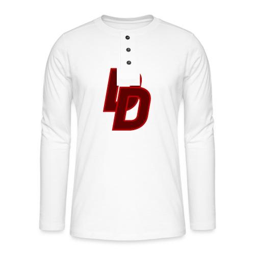 Daredevil Logo - Henley long-sleeved shirt
