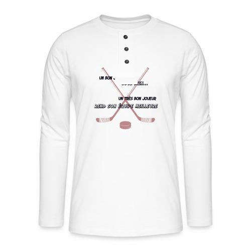 bon joueur - T-shirt manches longues Henley