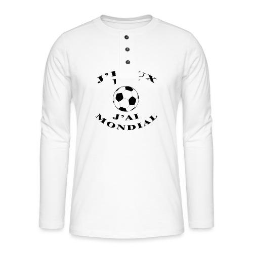 J PEUX PAS J AI MONDIAL - T-shirt manches longues Henley