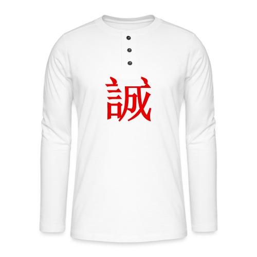 Sincerity - T-shirt manches longues Henley