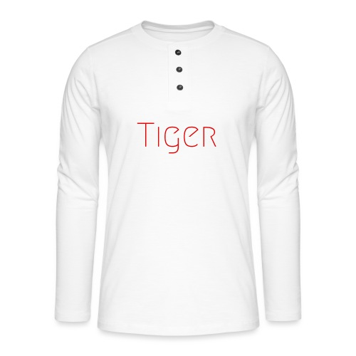 Tiger - T-shirt manches longues Henley