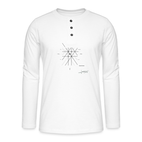 mathematique du centre_de_lunivers - T-shirt manches longues Henley