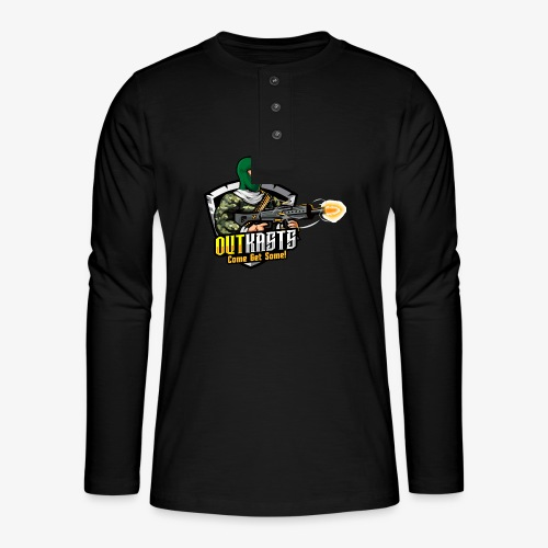 OutKasts [OKT] Logo 1 - Henley long-sleeved shirt