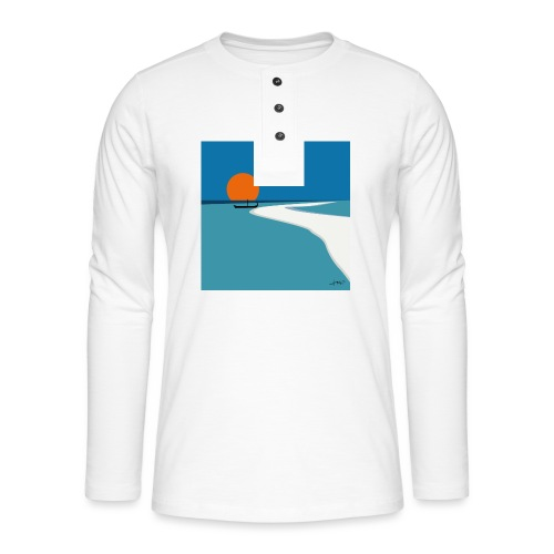 Polynesia - Henley long-sleeved shirt